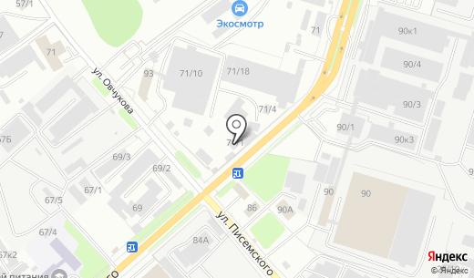 ИНТЕРГО. Схема проезда в Новосибирске