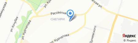 Стипус на карте Новосибирска