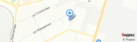 У Лены на карте Новосибирска