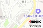 Схема проезда до компании Капитолий в Новосибирске