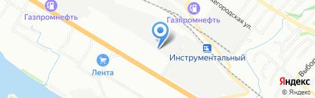 АйСтрой на карте Новосибирска