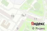 Схема проезда до компании Северо-Чемской в Новосибирске