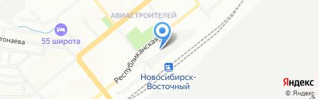 АвтоЛайф на карте Новосибирска