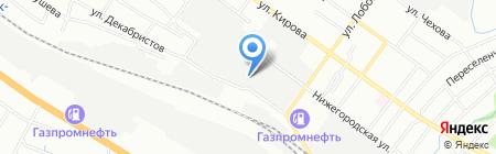 Мастер ТВ на карте Новосибирска