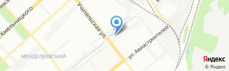 GYM-NSK.RU на карте Новосибирска