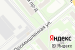 Схема проезда до компании Весна в Новосибирске