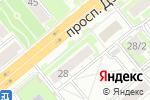 Схема проезда до компании КАССЫ и ВЕСЫ в Новосибирске