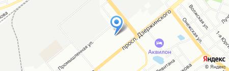 Детский сад № 362 на карте Новосибирска