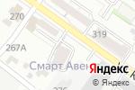 Схема проезда до компании МАКС Моторс в Новосибирске