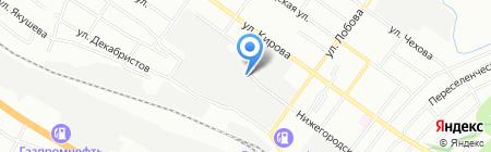 НСК Строй на карте Новосибирска