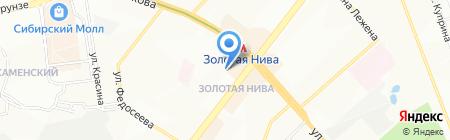 Детская музыкальная школа №12 на карте Новосибирска