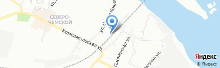 V & N на карте Новосибирска