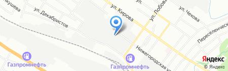 Автостор на карте Новосибирска