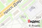 Схема проезда до компании Шесть соток в Новосибирске