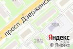 Схема проезда до компании Энергетик в Новосибирске