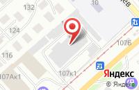 Схема проезда до компании Валанд в Новосибирске