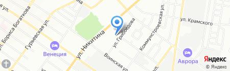 Триумф на карте Новосибирска
