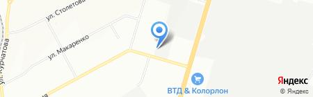 ЗЭМИ на карте Новосибирска