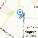 Тотошка на карте Новосибирска