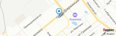 Банкомат БИНБАНК на карте Новосибирска