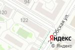 Схема проезда до компании Капелька лака в Новосибирске