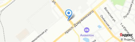 Хозобоз на карте Новосибирска