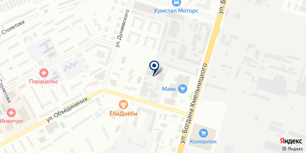 Радоница на карте Новосибирске