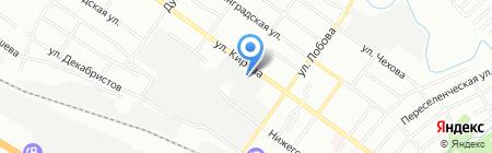 Альянс-МТ на карте Новосибирска