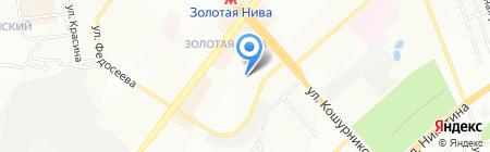 Детский сад №440 на карте Новосибирска