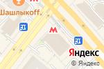 Схема проезда до компании Coffee Like в Новосибирске