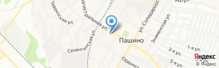 ТАНДЕМ на карте Новосибирска