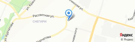 Mobil 1 на карте Новосибирска