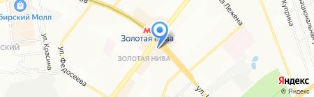 Наше дело на карте Новосибирска