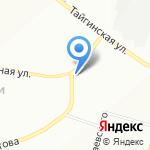 Автомаркет на карте Новосибирска