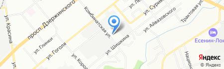 Противомоскитные системы на карте Новосибирска
