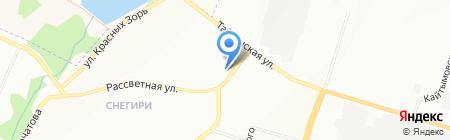 Факториал-С на карте Новосибирска