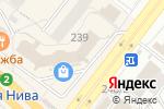Схема проезда до компании Магазин спецодежды для медицины и общепита в Новосибирске