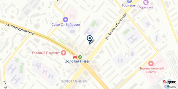 Фотоград на карте Новосибирске