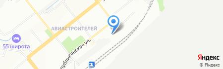 НСК-РемСтрой на карте Новосибирска