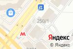 Схема проезда до компании Радиосвет в Новосибирске