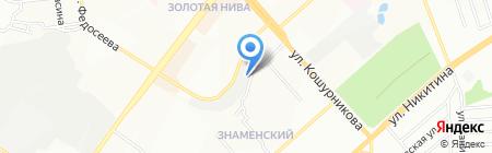 DRAIV на карте Новосибирска