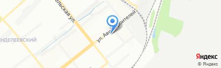 Средняя общеобразовательная школа №57 на карте Новосибирска