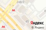Схема проезда до компании Золотая Нива в Новосибирске