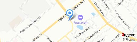 Глобус-НСК на карте Новосибирска