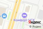 Схема проезда до компании Бизнес Банкет в Новосибирске
