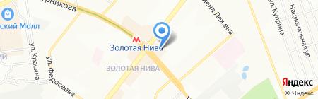 Свежее мясо на карте Новосибирска