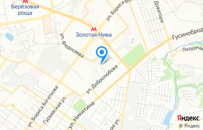 Местоположение на карте пункта техосмотра по адресу г Новосибирск, ул Стофато, зд 7А