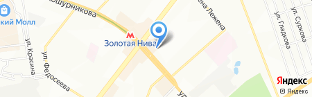 Холди Дискаунтер на карте Новосибирска
