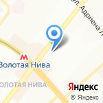 Канцелярский дом на карте Новосибирска