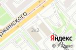Схема проезда до компании Мир семян в Новосибирске